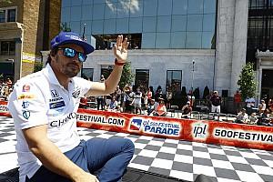 Stop/Go Livefeed Brutális gyűrűt kapott Alonso Indianapolisban