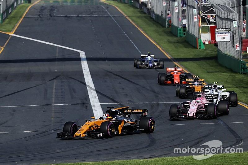 """التجاوز كان """"شبه مستحيل"""" في أستراليا مع سيارات الفورمولا واحد الجديدة"""