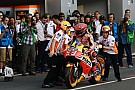 MotoGP Late tyre change was
