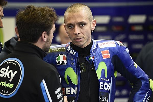 MotoGP Actualités Valentino Rossi hospitalisé après un accident à l'entraînement