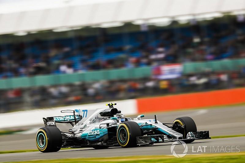 英国大奖赛周五:博塔斯速度最快,但需更换变速箱
