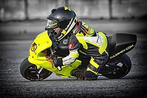 UASBK Важливі новини Тимур Кулєшов вирушає на дитячі мотоперегони
