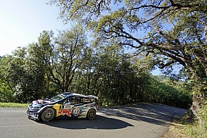 WRC Leg report Corsica WRC: Ogier takes 15-second lead after two stages