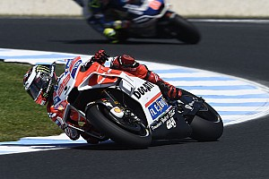 MotoGP Réactions Lorenzo dans une position inconfortable suite à un manque de grip