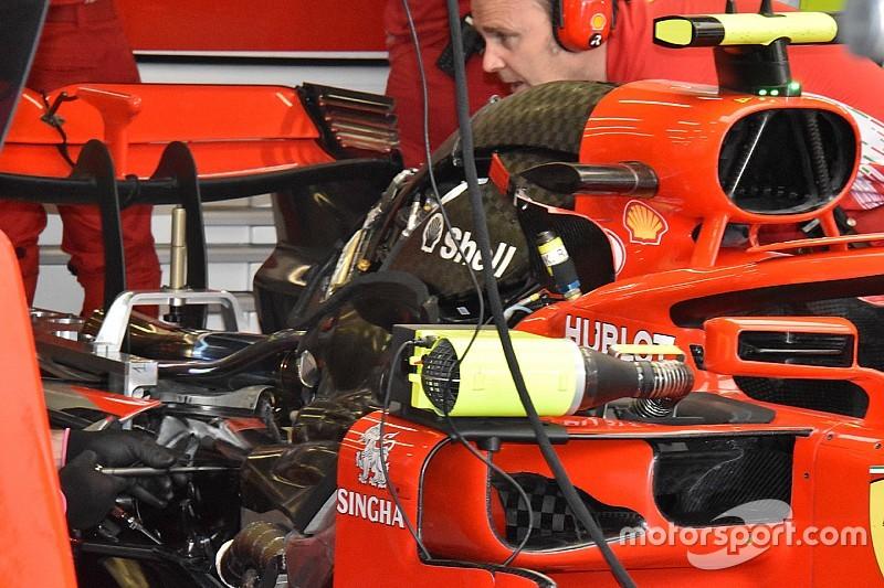 El motor de Raikkonen no se tronó en España