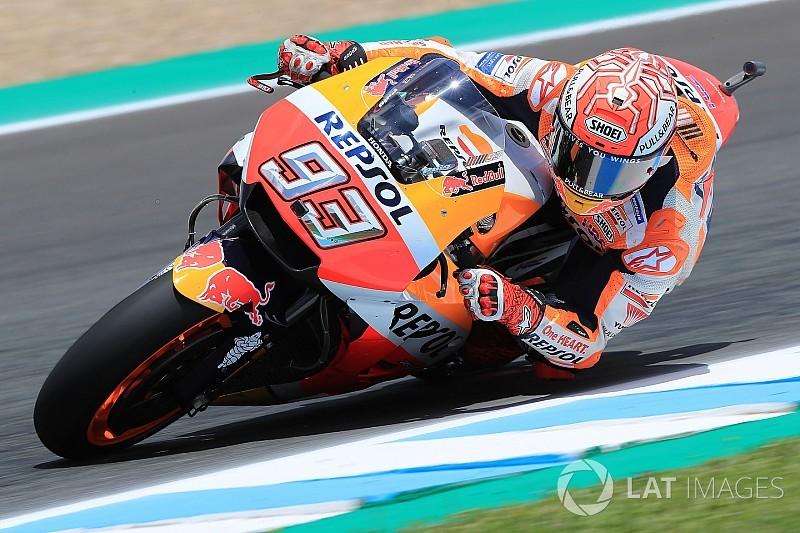 FP3 MotoGP Spanyol: Marquez makin kencang, Dovi-Vinales Q1