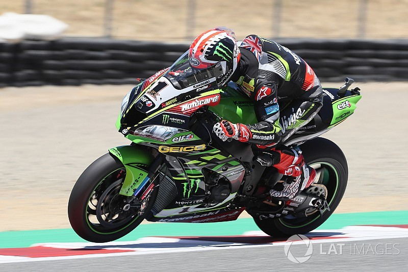 Laguna Seca WSBK: Rea outduels Davies for victory