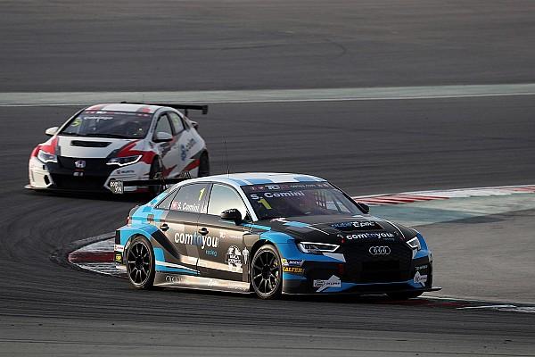TCR Jelentés a versenyről TCR: Cominié a második futam Dubajban, Tassi kiugrott a rajtnál, így győzelem helyett csak 10.
