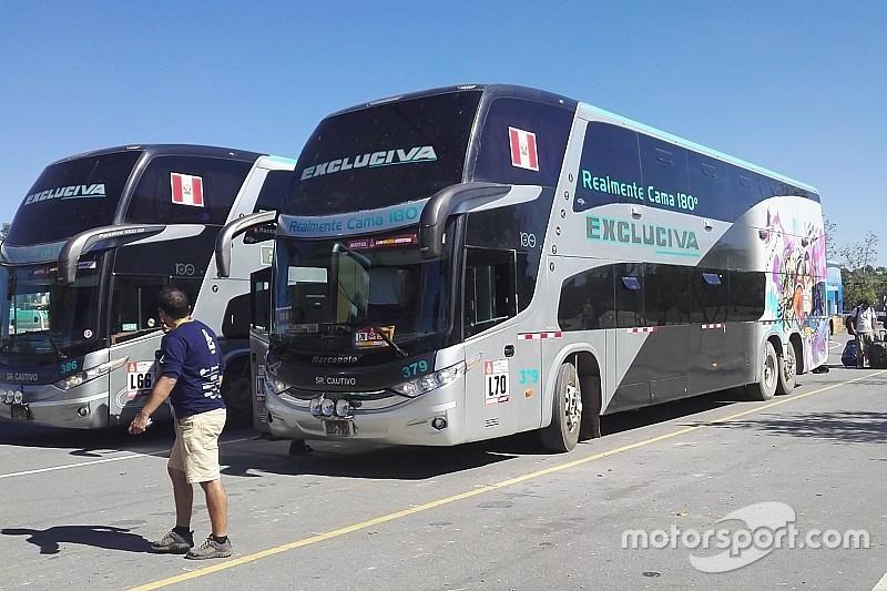 Dakar, in viaggio con Toyota: 12 ore di pullmann per arrivare a Cordoba!