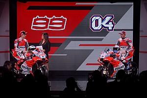 MotoGP Важливі новини Довіціозо та Лоренсо презентували Ducati Desmosedici 2018 року