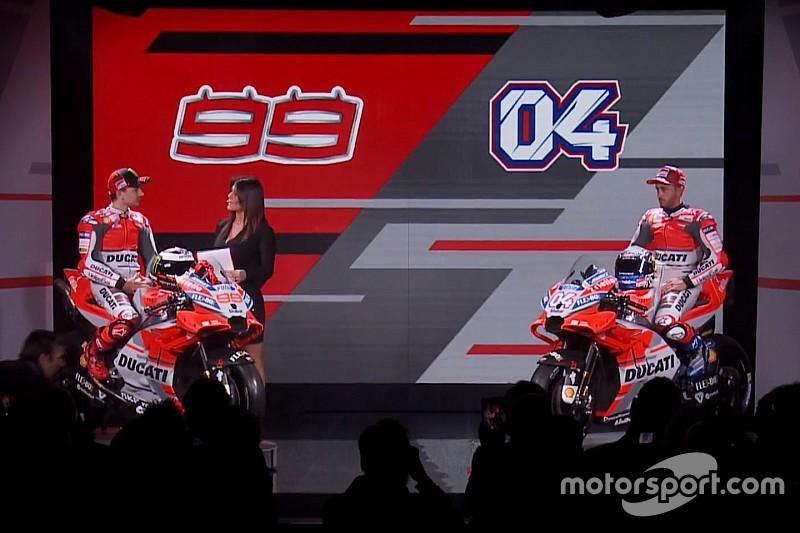 Ducati revela pintura para temporada de 2018 da MotoGP
