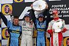 Fórmula 1 GALERÍA: Todos los podios y victorias de la F1 en Melbourne
