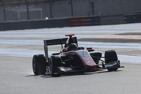 GP3 Мазепин показал второй результат на тестах GP3