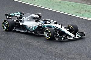 Mercedes'in 2018 F1 aracı W09 tanıtıldı