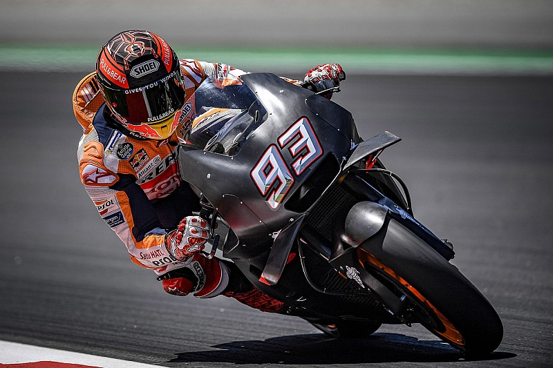 MotoGP-Test Barcelona 2018: Marquez schnappt sich Bestzeit