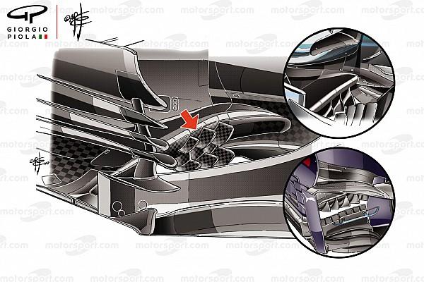 Формула 1 Аналитика Технический анализ: новинки, на которые Haas возлагает большие надежды