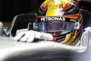 F1アメリカ:あいにくの雨のFP1。首位ハミルトン、2番手ベッテル