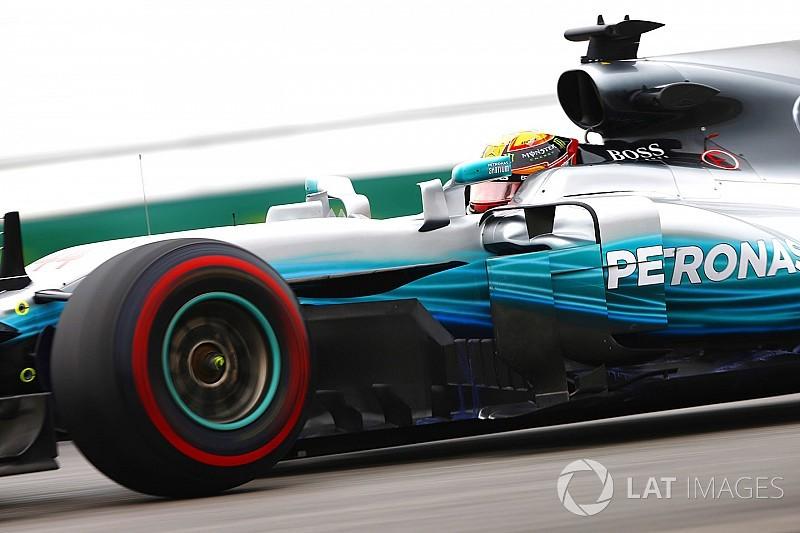Hamilton ook klasse apart in tweede training, Verstappen op P2