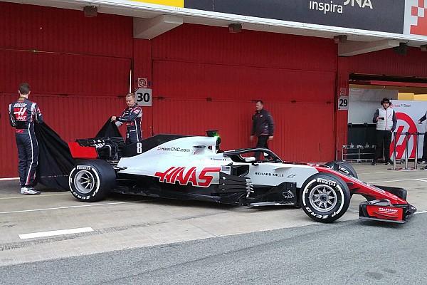 Haas представила наживо болід Ф1 2018 року