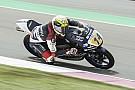 Moto3 Arbolino se alía con la lluvia para firmar su primera pole