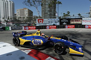IndyCar Practice report Long Beach IndyCar: Rossi leads Dixon in raceday warm-up