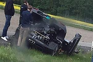 Auto Actualités Nouveau crash pour la Koenigsegg Agera RS Gryphon
