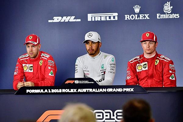 Fórmula 1 Noticias Hamilton y Vettel se enzarzan en la rueda de prensa de Australia