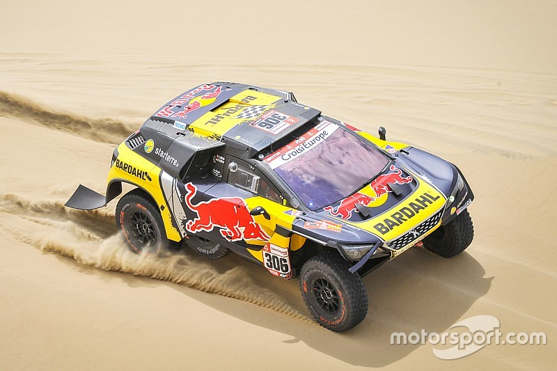 Dakar 2019, Stage 2: Loeb beats Roma by 8s