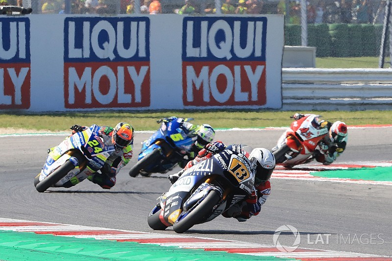 Banned Moto2 rider Fenati dropped by team