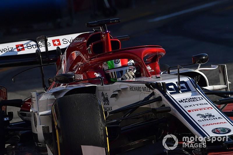 Giovinazzi eddig boldog, de még megvárná Räikkönen