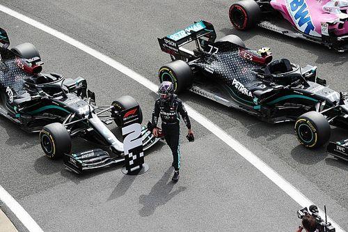 """Hamilton: """"Bottas pole pozisyonunu hak etti"""""""