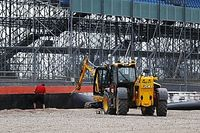 Silverstone instala barreras extra por el accidente de Kvyat