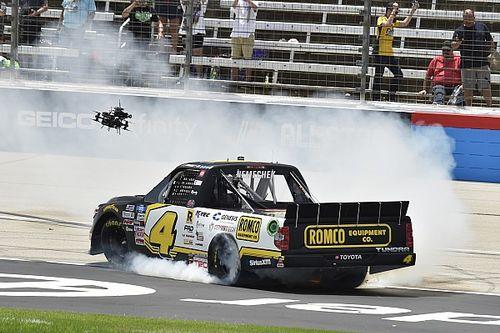 John Hunter Nemechek tops Chase Elliott to win Texas Truck race