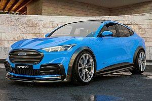 Ford Mustang Mach-E, con Motion R Design l'aspetto è elettrizzante