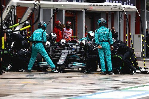 Imola'da en hızlı pit stopu Mercedes yaptı