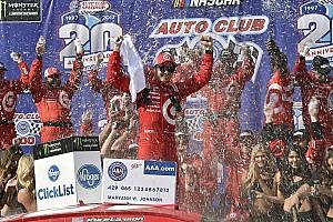 Monster Energy NASCAR Cup Yarış raporu Fontana'da zafer Kyle Larson'un