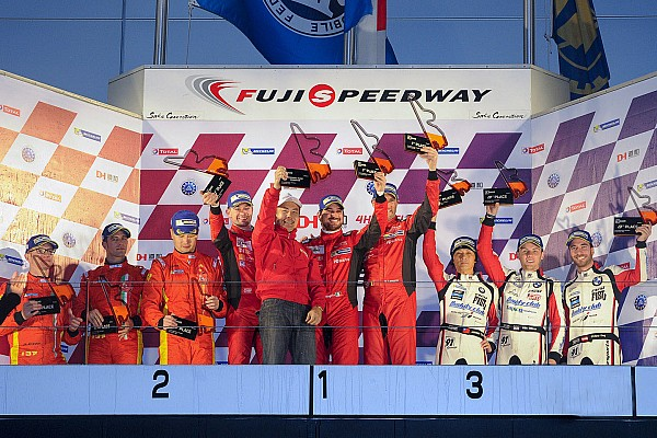 Asian Le Mans Race Performance win the 4 Hours of Fuji