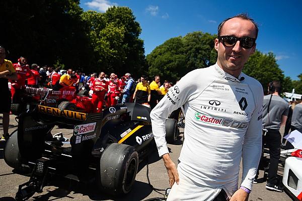 F1-Test in Ungarn 2017: Sitzt Robert Kubica im Renault-Cockpit?
