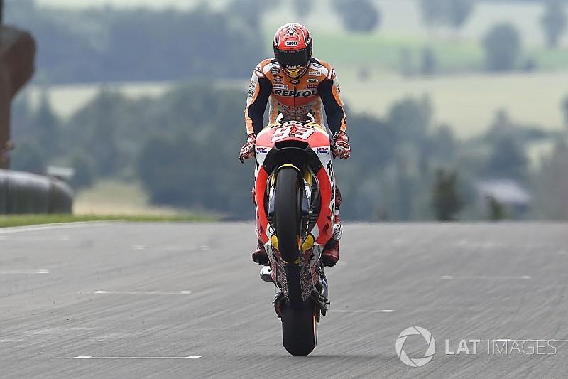 Marquez Brno'da podyum istiyor