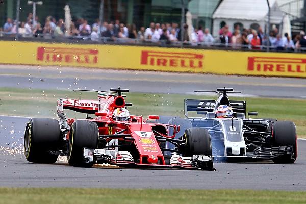 Pirelli: confermata una foratura lenta per Vettel a Silverstone