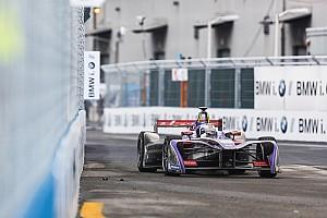 Formule E Résumé d'essais libres EL - Bird sur sa lancée, entre deux drapeaux rouges