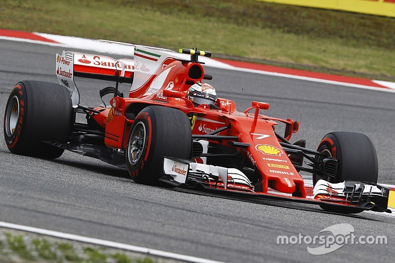 Райкконен опроверг наличие проблем с мотором в гонке