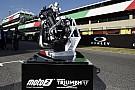 10 giorni di test nel 2018 per familiarizzare con il motore Triumph