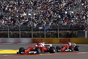 Formel 1 2017 in Sochi: Ferrari mit Vettel und Räikkönen in Reihe 1