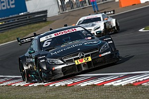 DTM Reporte de la carrera Wickens festejó en el domingo del DTM en Nurburgring