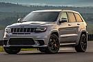 Primera prueba del Jeep Grand Cherokee Trackhawk 2018