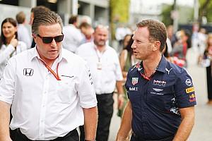 Formel 1 News McLaren: Wollen nicht die gleichen Fehler machen wie Red Bull