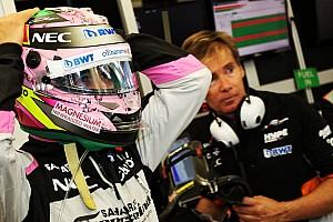 F1 Noticias de última hora Checo considera que Force India ha entregado resultados extraordinarios