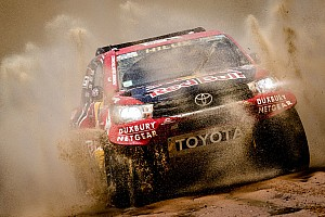 "Dakar Breaking news Toyota's horror day a reminder of Dakar's ""cruel"" nature"