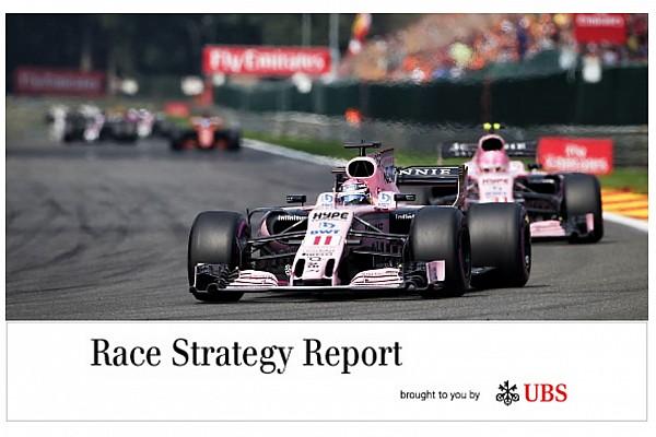 Formula 1 Race strategy report: James Allen's Belgian GP analysis